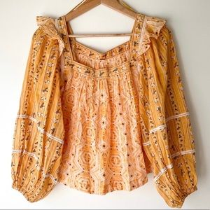 {Free People } Mostly Meadow in Yellow